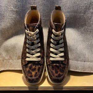 RARE Python Louboutin Rantus Sneaker Men's 41